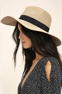 Professional Lounger Tan Floppy Straw Hat 2