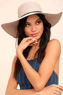 My Paradise Blush Floppy Straw Hat 2