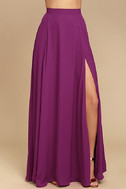 Thoughts of You Magenta Two-Piece Maxi Dress 6
