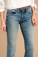 Blank NYC Intro Medium Wash Distressed Ankle Skinny Jeans 5