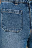 Rollas Sailor Flare Medium Wash High-Waisted Jeans 6