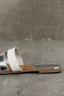 Amaryllis Toffee Brown Slide Sandals 7