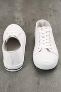 Americana White Canvas Sneakers 3
