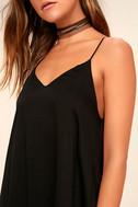 Lasting Memories Black Midi Dress 5
