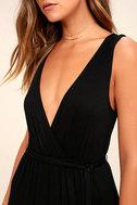 Take a Cruise Black Maxi Dress 5