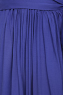 Magical Movement Royal Blue Wrap Maxi Dress 6