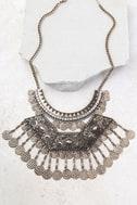 Saharan Stunner Gold Statement Necklace 1
