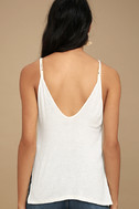 Way to My Heart Ivory Tank Top 4