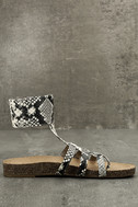 Circus by Sam Edelman Katie Cashmere Snake Ankle Strap Sandals 4