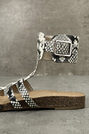 Circus by Sam Edelman Katie Cashmere Snake Ankle Strap Sandals 7