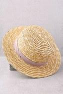 Wyeth Alexis Beige Straw Hat 2