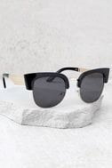 Totally Classic Black Sunglasses 1