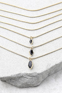 The Chic and the Stone Gold Layered Choker Necklace 2