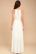 For Life White Embroidered Maxi Dress 4
