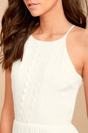 For Life White Embroidered Maxi Dress 5