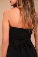 Own the Night Black Strapless Maxi Dress 5