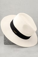 Billabong Here and There White Straw Hat 3