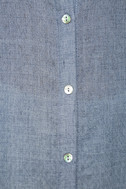 Sweet Cottage Denim Blue Long Sleeve Cover-Up 7