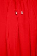 Everything's All Bright Red Backless Maxi Dress 6