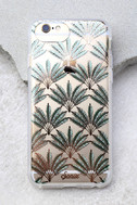 Sonix Palm Deco Clear and Rose Gold Print iPhone 7 Case 1