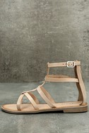 Rebels Florence Natural Leather Gladiator Sandals 1