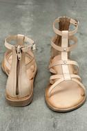 Rebels Florence Natural Leather Gladiator Sandals 3