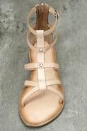 Rebels Florence Natural Leather Gladiator Sandals 5