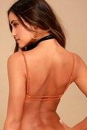 Amuse Society Ellea Terra Cotta Bikini Top 3