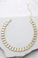 Babe Town Gold Chain Choker Necklace 1