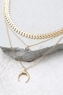 Child of the Wild Gold Layered Choker Necklace Set 3