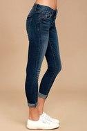 Greta Medium Wash Distressed Skinny Jeans 3