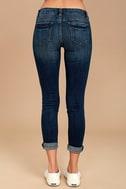 Greta Medium Wash Distressed Skinny Jeans 4