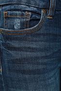 Greta Medium Wash Distressed Skinny Jeans 6