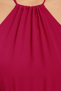 Essence of Style Berry Pink Maxi Dress 6