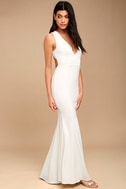 Heaven and Earth White Maxi Dress 2