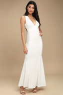 Heaven and Earth White Maxi Dress 3