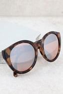 Solstice Sun Tortoise and Silver Mirrored Sunglasses 2