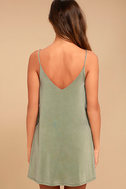 Back In Love Sage Green Swing Dress 3
