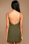 Ray of Light Olive Green Dress 3