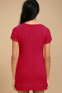 Perfect Time Red Shift Dress 3