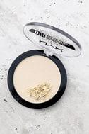 NYX Snow Rose White Duo Chromatic Illuminating Powder 2