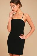 Toast to Life Black Mini Dress 2