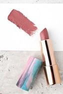 LAQA & Co. Olive Rose Dark Pink Avo Lip Butter 2