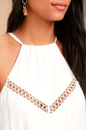 Some Kind of Wonderful White Lace Maxi Dress 4