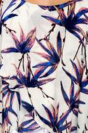 Free People Simone Ivory Floral Print Tank Top 4