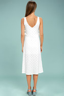 Lucy Love Latin Quarter White Lace Midi Dress 3