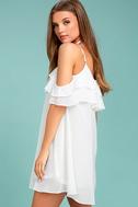 Impress the Best White Off-the-Shoulder Dress 2