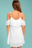 Impress the Best White Off-the-Shoulder Dress 3