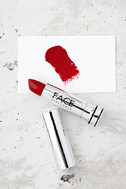 FACE Stockholm Striking Red Cream Lipstick 1