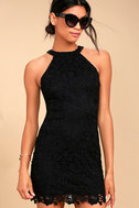 Love Poem Black Lace Dress 1